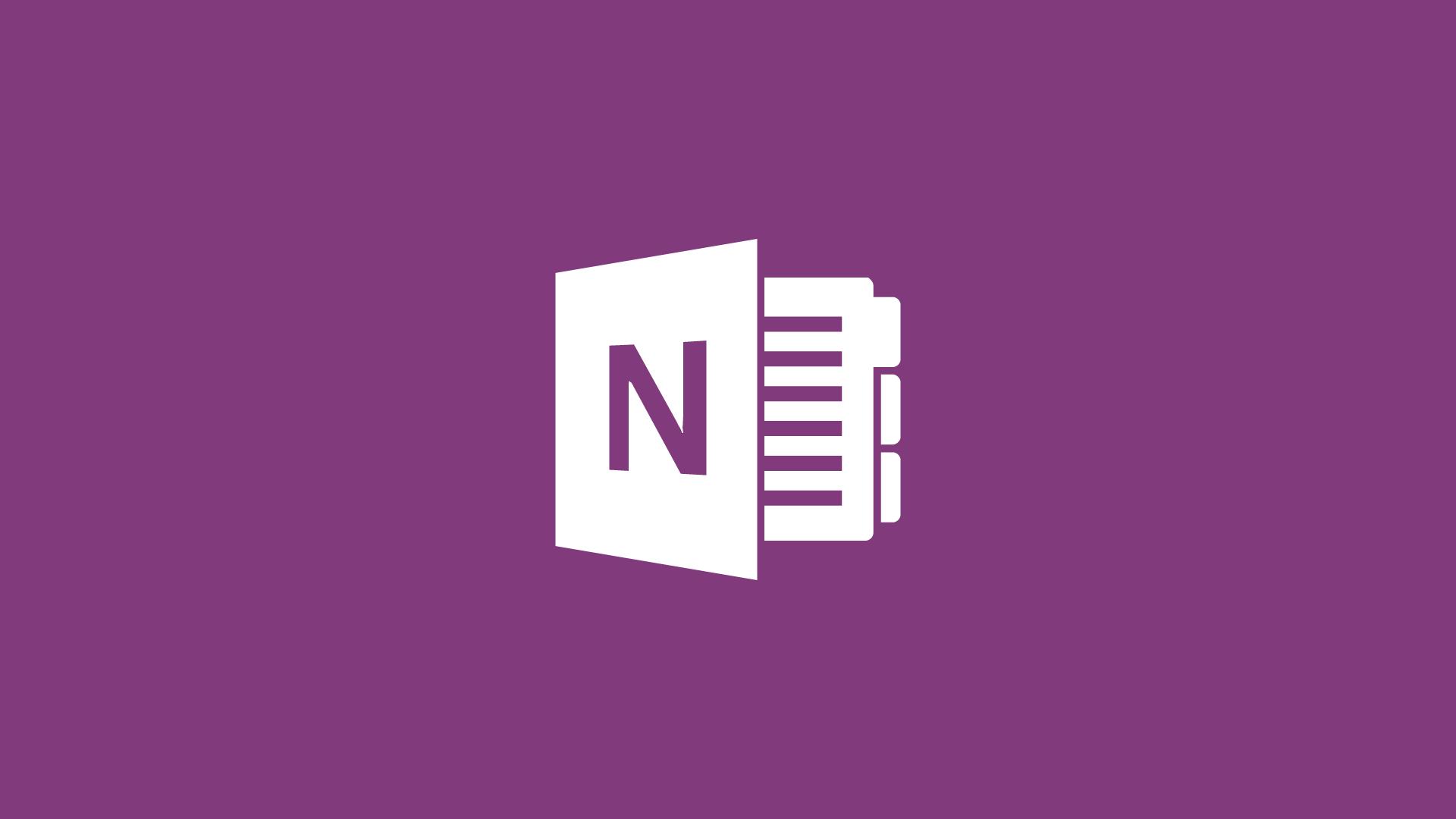 Formação One Note Linha Virtual