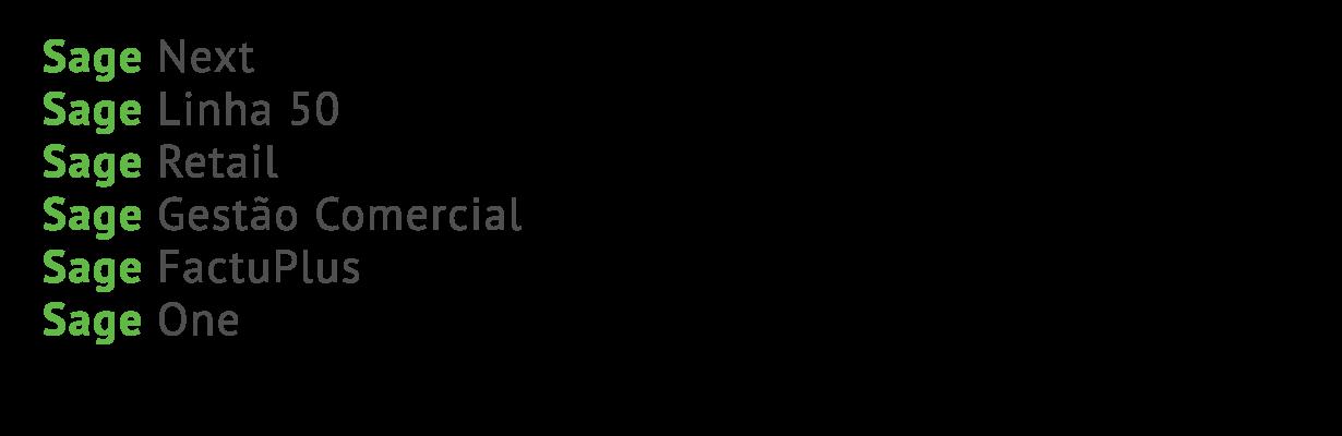 Software de Gestão Sage Linha Virtual