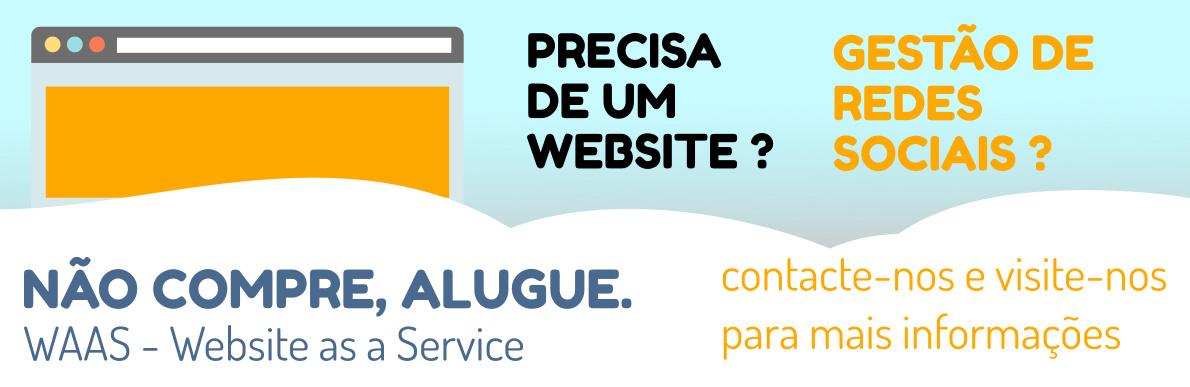 Serviço de Webdesign e Gestão de Redes Sociais