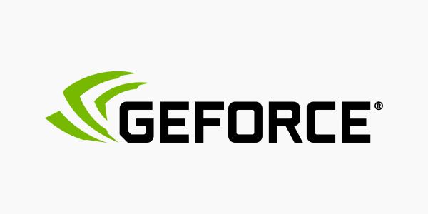 Logotipo Geforce