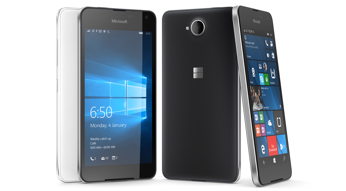 Lumia 650 Linha Virtual