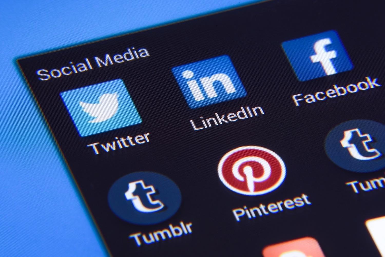 Gestão de Redes Sociais Linha virtual